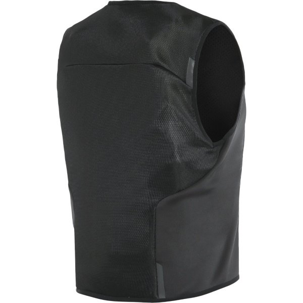 Dainese Smart Jacket Black Mens Motorcycle Airbag Vest Back Right