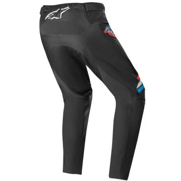 Alpinestars Racer Braap Black Light Grey Motocross Pants Rear