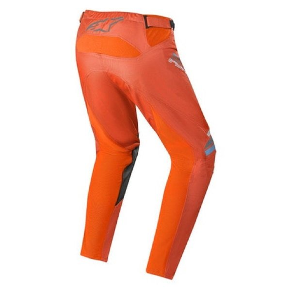 Alpinestars Racer Braap Pants Dark Grey Orange Fluo Size: Mens UK - 30