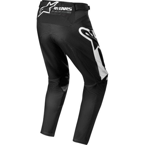 Alpinestars Racer Supermatic Black White Motocross Pants Rear