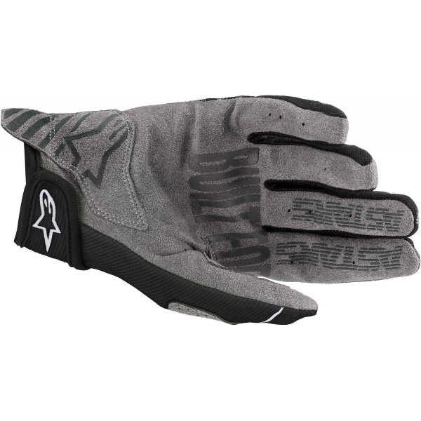 Alpinestars Radar Youth Gloves Black White Size: Kids - 2XS