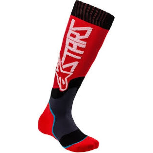 Alpinestars MX Plus-2 Red White Socks