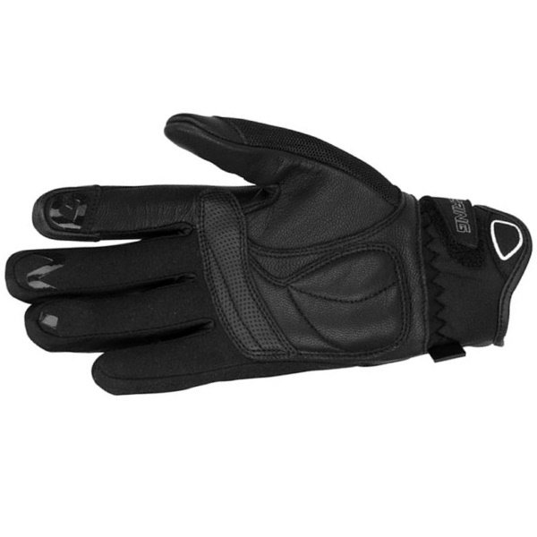Bering Lady Ginza Ladies Black White Motorcycle Gloves Palm