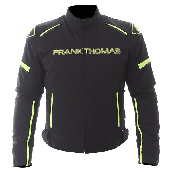 Evo Race WP Jacket Black Yellow