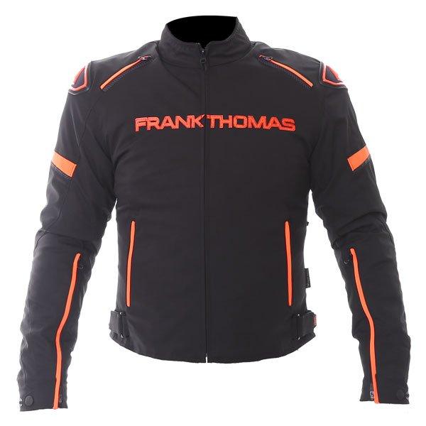 Evo Race WP Jacket Black Orange