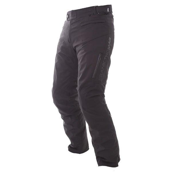 Frank Thomas Evo Race Waterproof Black Textile Motorcycle Pants Side