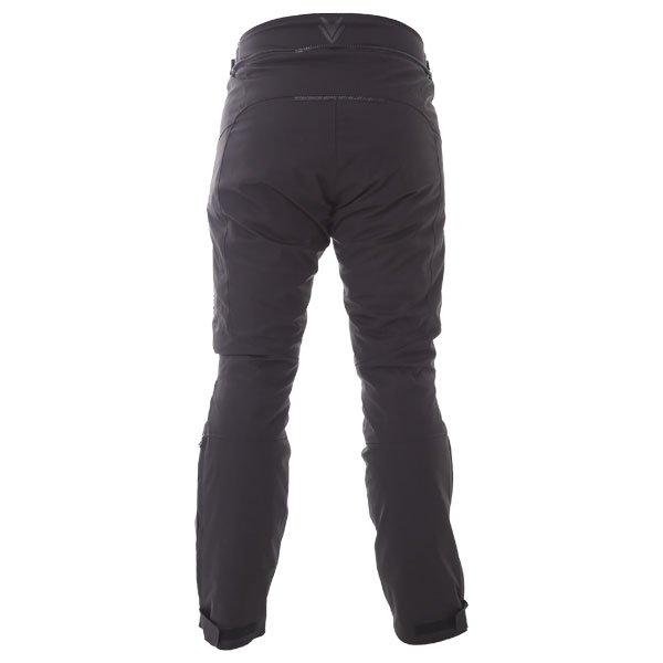 Frank Thomas Evo Race Waterproof Black Textile Motorcycle Pants Rear