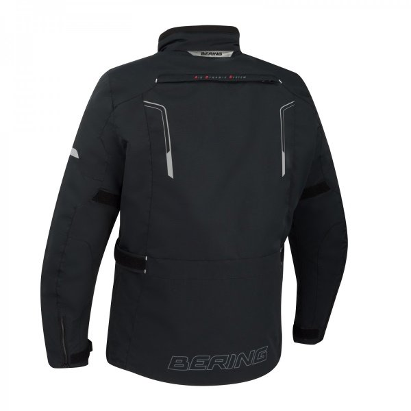 Bering Alaska Black Textile Motorcycle Jacket Back