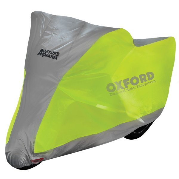 Oxford Products Aquatex Fluorescent Extra Large Motorcycle Cover