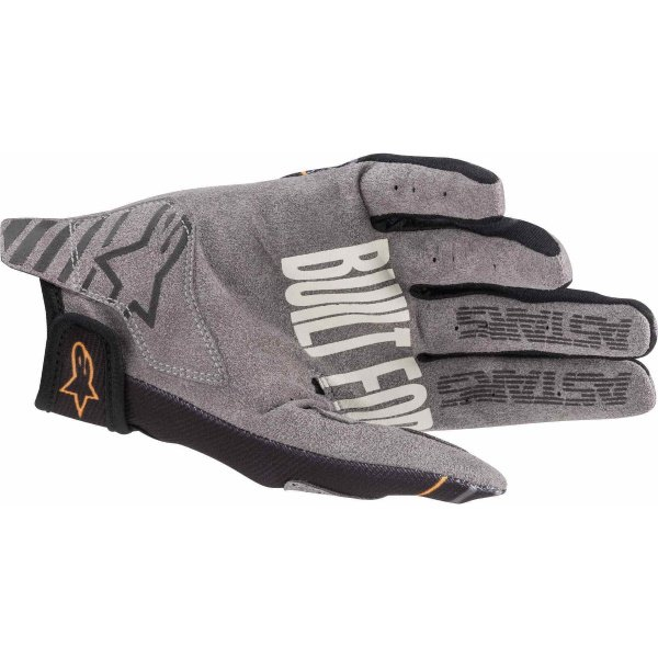 Alpinestars Radar Black Dark Grey MX Gloves Palm