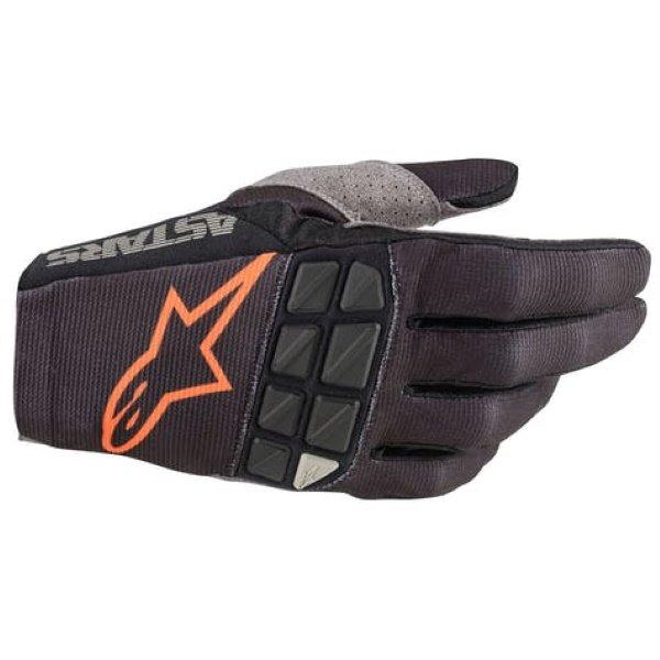 Alpinestars Racefend Black Orange MX Gloves Back
