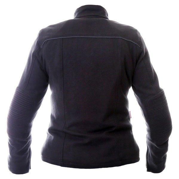 BKS Roxy Ladies Black Textile Motorcycle Jacket Back