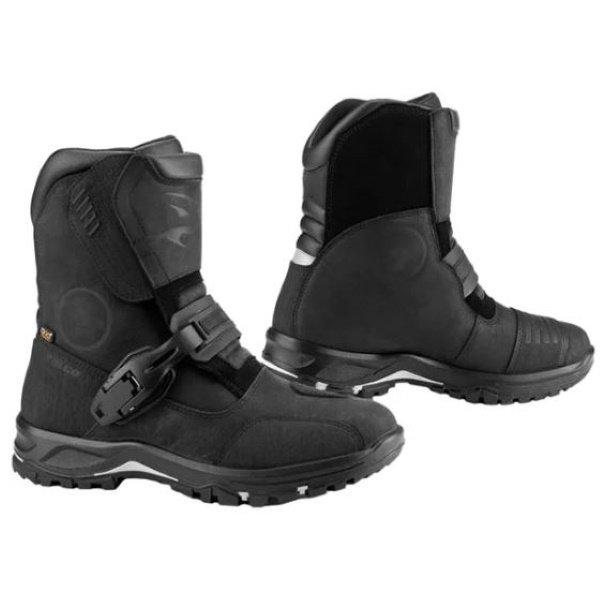 Falco Marshall Pair Black Motorcycle Boots