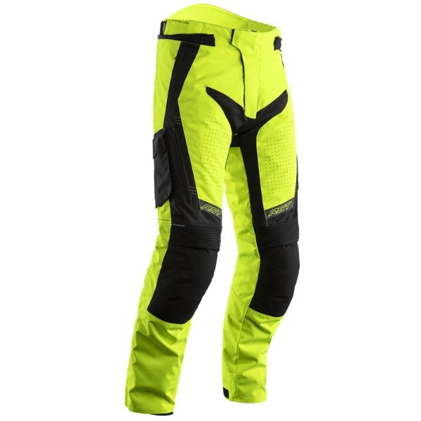 Rallye CE Mens Textile Jeans Flo Yellow Black Discount Motorcycle Gear