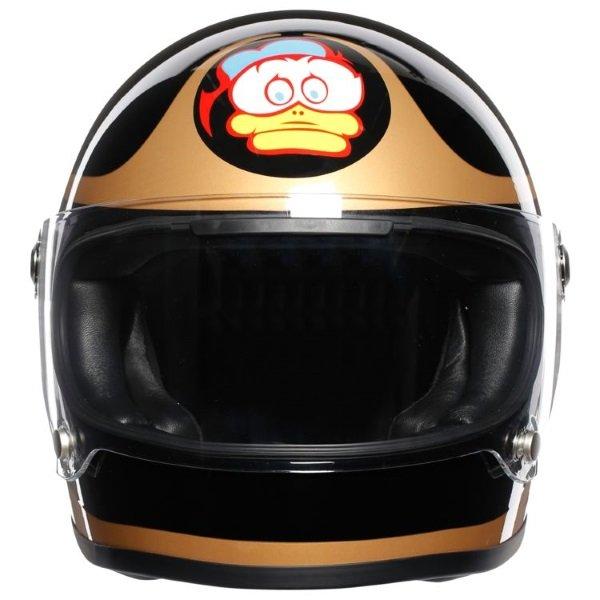 AGV X3000 Barry Sheene Replica Full Face Motorcycle Helmet Front
