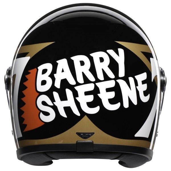 AGV X3000 Barry Sheene Replica Full Face Motorcycle Helmet Back