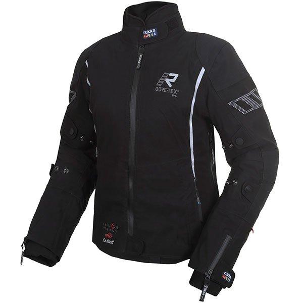 Suki Pro Jacket Black Silver Rukka Ladies