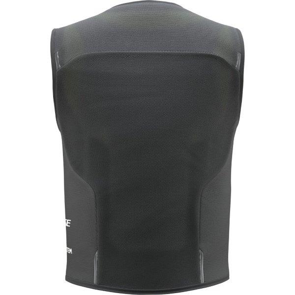 Dainese Smart Jacket Black Ladies Motorcycle Airbag Vest Back