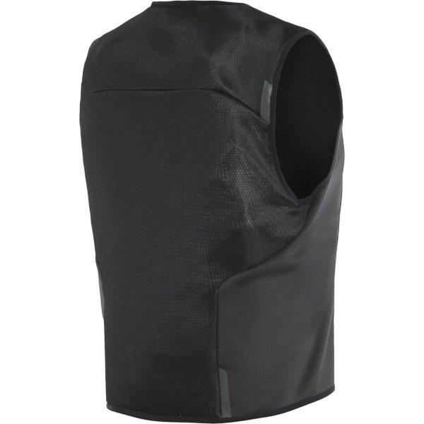 Dainese Smart Jacket Black Ladies Motorcycle Airbag Vest Back Right