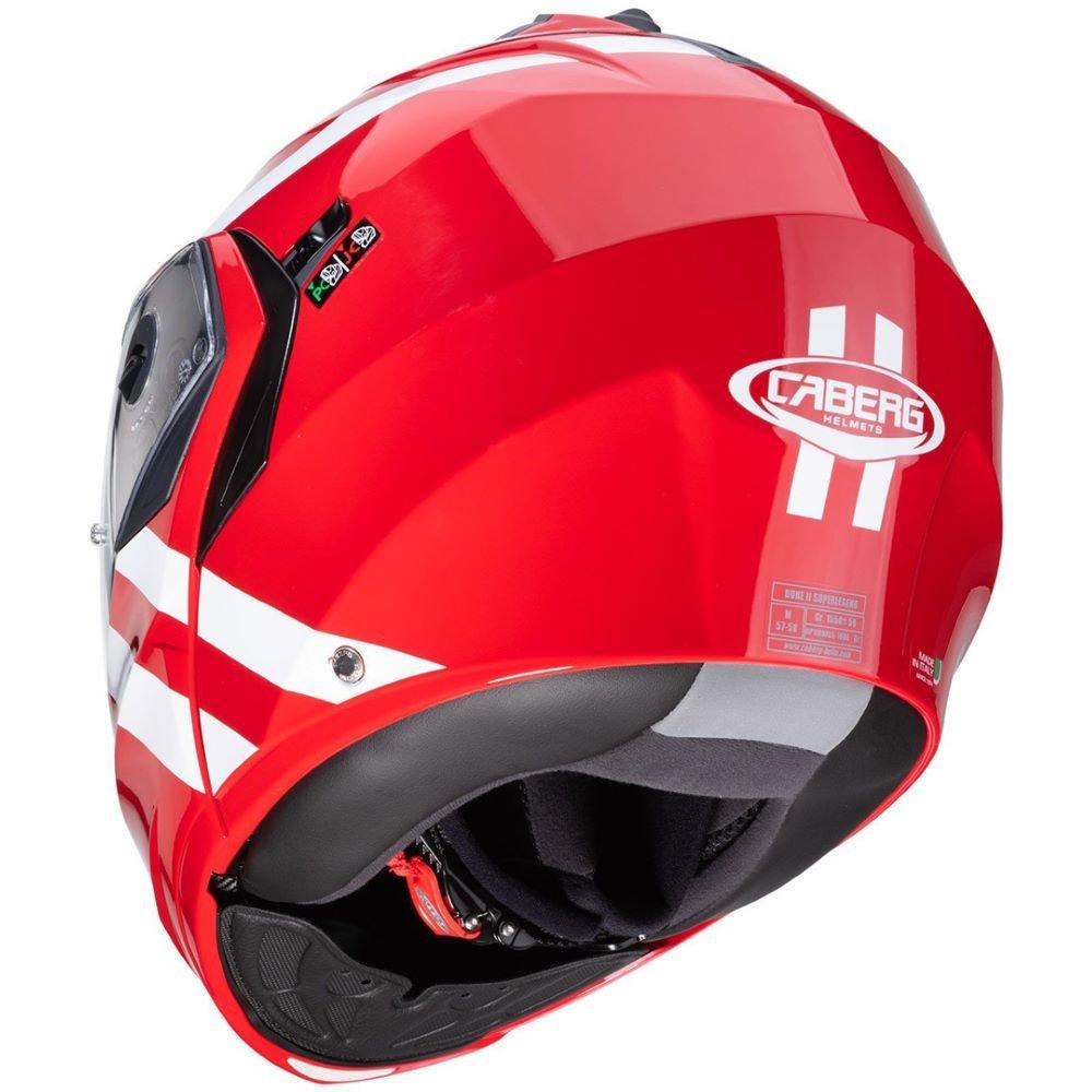 Caberg Duke II Super Legend Helmet Red White Size: M