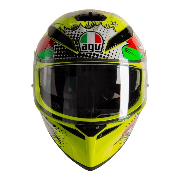 AGV K3 SV-S Wow Full Face Motorcycle Helmet Front