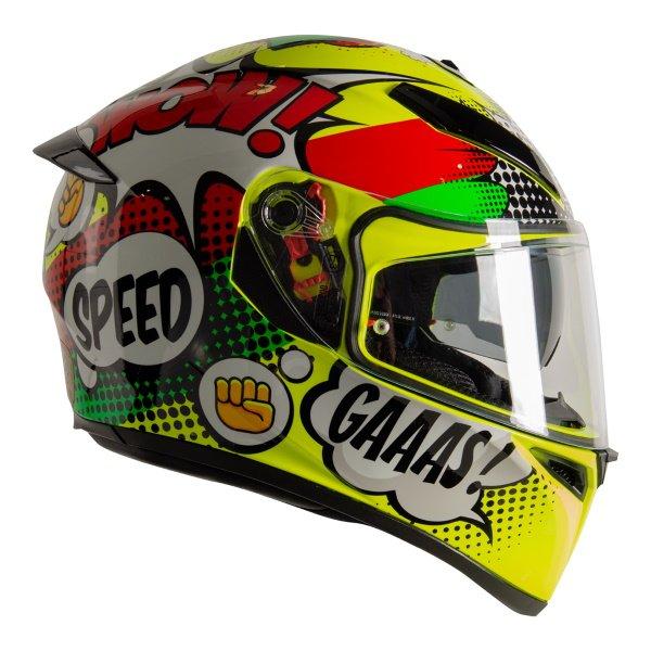 AGV K3 SV-S Wow Full Face Motorcycle Helmet Right Side