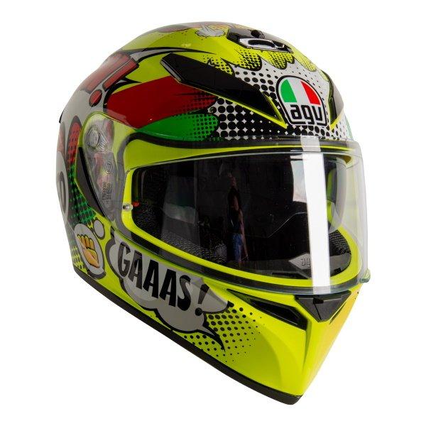 AGV K3 SV-S Wow Full Face Motorcycle Helmet Front Right