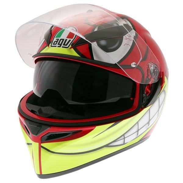 AGV K3 SV-S Birdy Full Face Motorcycle Helmet Open With Sun Visor