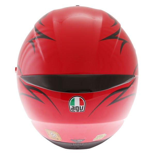AGV K3 SV-S Birdy Full Face Motorcycle Helmet Back