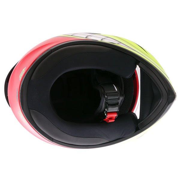 AGV K3 SV-S Birdy Full Face Motorcycle Helmet Inside