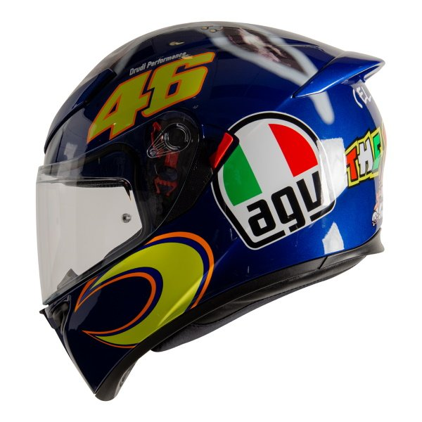 AGV K3 SV-S Donkey Full Face Motorcycle Helmet Left Side