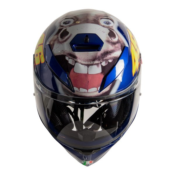 AGV K3 SV-S Donkey Full Face Motorcycle Helmet Top