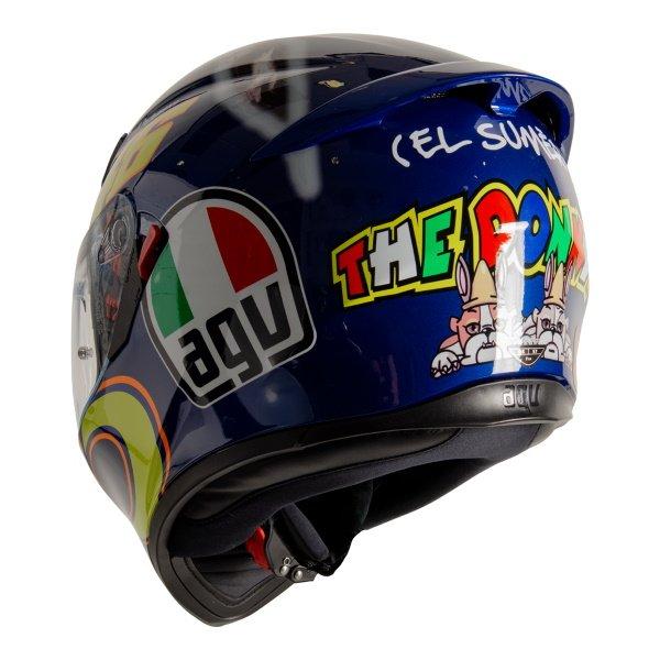 AGV K3 SV-S Donkey Full Face Motorcycle Helmet Back Left