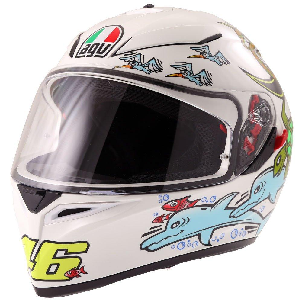 K3 SV-S Helmet White Zoo Motorcycle Helmets