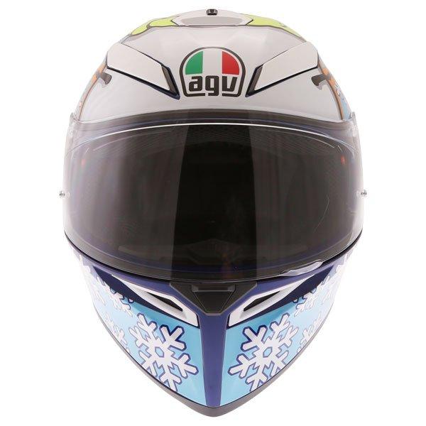 AGV K3 SV-S Winter Test Full Face Motorcycle Helmet Front