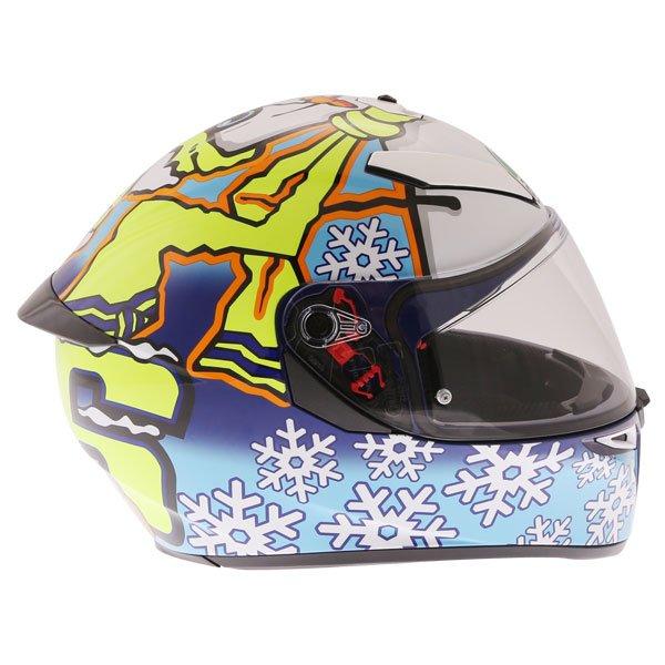 AGV K3 SV-S Winter Test Full Face Motorcycle Helmet Right Side