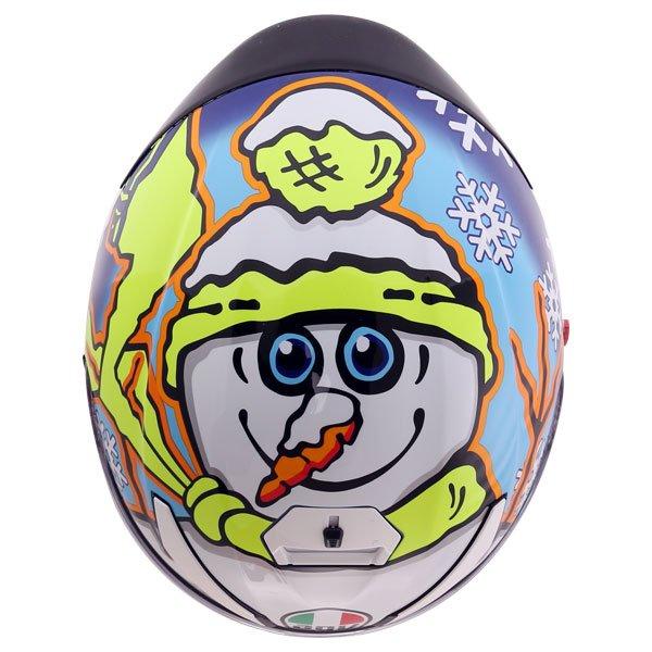 AGV K3 SV-S Winter Test Full Face Motorcycle Helmet Back