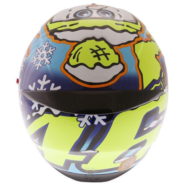 AGV K3 SV-S Winter Test Full Face Motorcycle Helmet Top