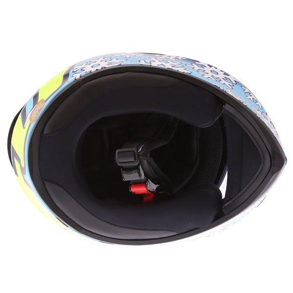 AGV K3 SV-S Winter Test Full Face Motorcycle Helmet Inside