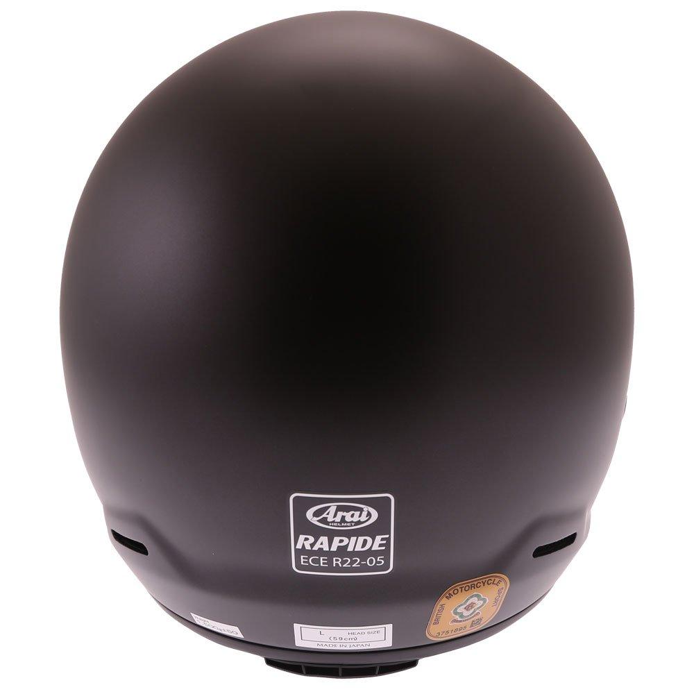 Arai Rapide Helmet Frost Black Size: XS