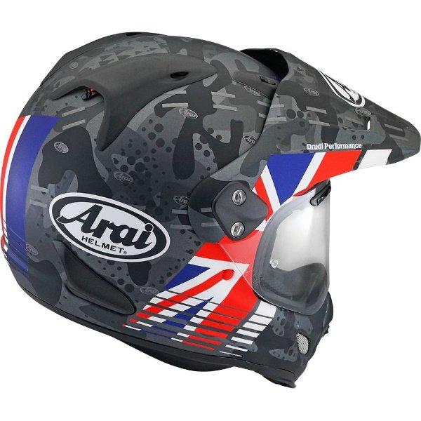 Arai Tour-X 4 Cover UK Adventure Motorcycle Helmet Back