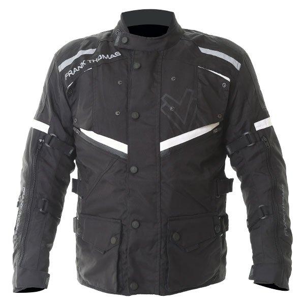 Legacy Jacket Black Black White Motorcycle Jackets