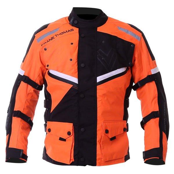 Legacy Jacket Orange Black White Black Mens Motorcycle Clothing, Boots And Gloves