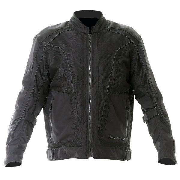 Air Flow Jacket Black Mens Motorcycle Clothing, Boots And Gloves