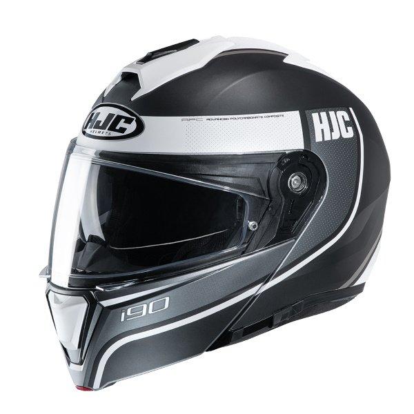 I90 Davan Helmet Black White