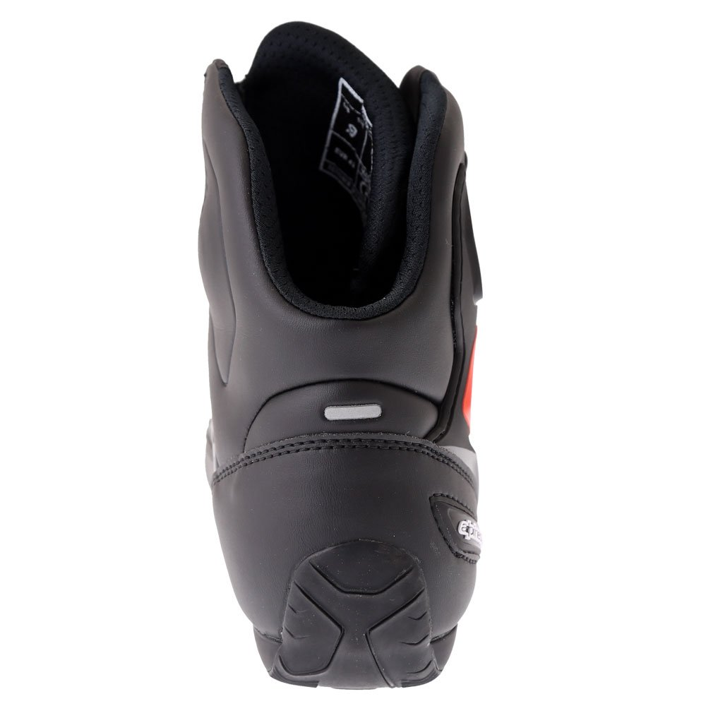 Alpinestars Faster-3 Shoes Black Grey Camo Red Fluo Mens - 4