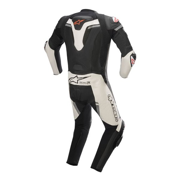 Alpinestars Missile Ignition 1pc Tech Air Black White Red Fluo Size: MENS UK - 36