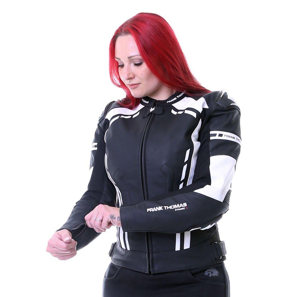 Frank Thomas Dynamic II Ladies Jacket Black White Size: Ladies UK - 8