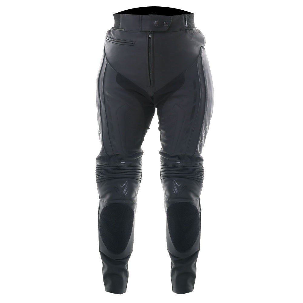 Dynamic II Ladies Jeans Black Ladies Motorcycle Clothing, Boots And Gloves
