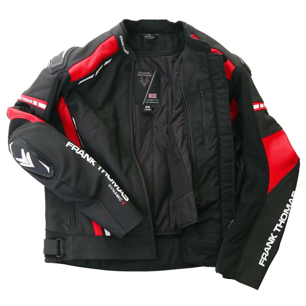 Frank Thomas Dynamic II Jacket Black Red Size: Ladies UK - 40
